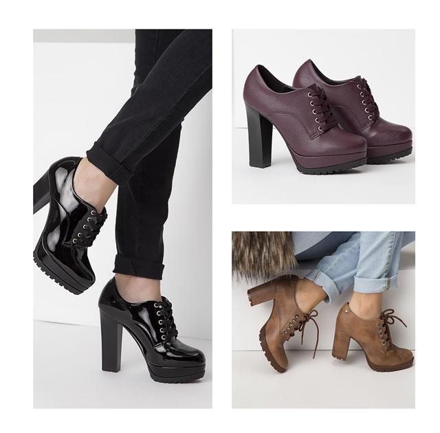 6729e1056 No sapato Oxford, este estilo de salto marca presença e chama a atenção das  mulheres ousadas. Ao lado do estilo Anklee Boots, esse item é tendência  neste ...
