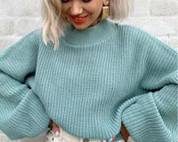Blusas de tricô nunca são demais no seu roupeiro